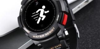 NO.1 F6 Smartwatch - BLACK