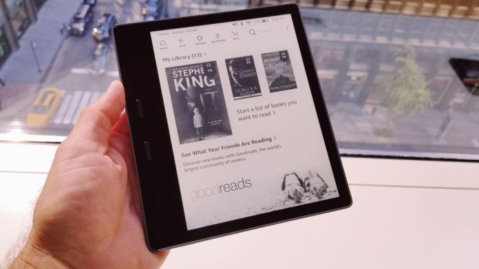 kindle-oasis e-book reader
