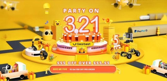 Gearbest 5th Anniversary sale