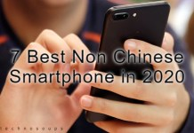 Non Chinese smartphone
