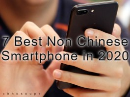 Non Chinese smartphone