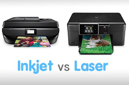 Inkjet vs Laser