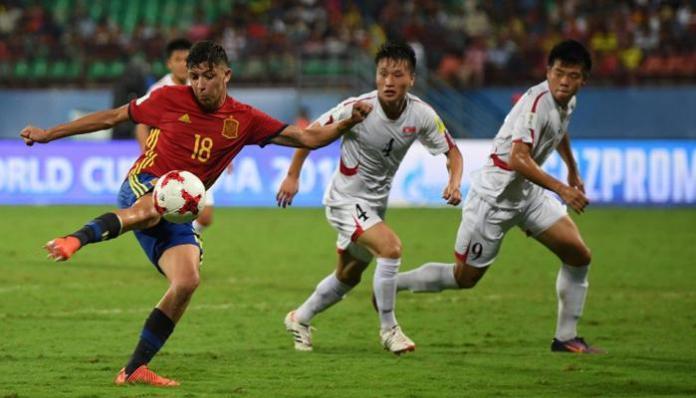 Spain vs North Korea