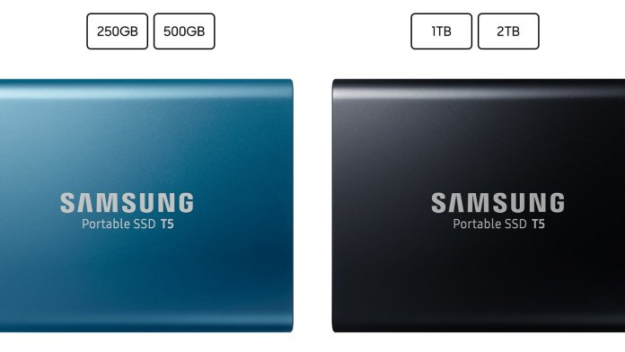 tHE TWO VERSIONS OF SAMSUNG SSD T5