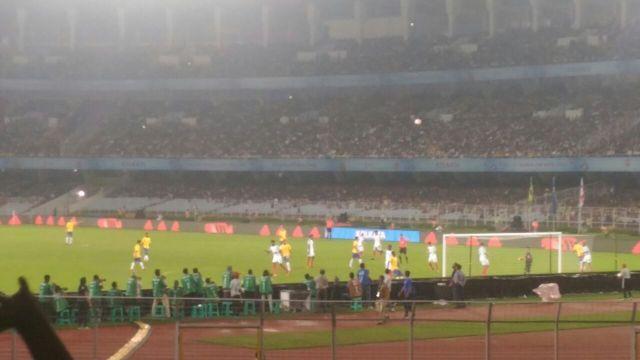 England vs Brazil U-17