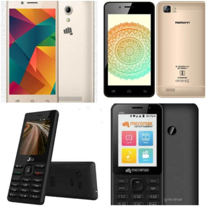 Cheapest Smart Phones In India