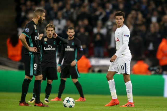 Spurs vs Real Madrid