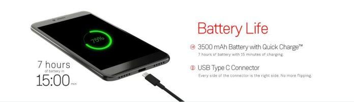 Capture+ Battery Specs