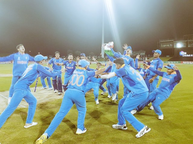 India U-19 won the World Cup