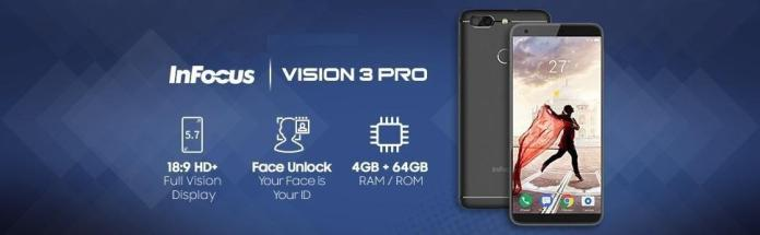 InFocus Vision 3 Pro with Facial Unlock is Here