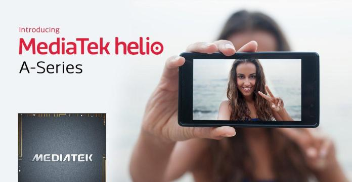 "MediaTek Reveals ""Helio A"" Series Processors"