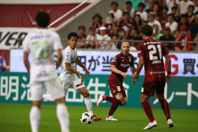 Andres Iniesta feels 'hurt' about his Vissel Kobe debut