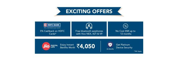 Vivo Flagship Smartphones At Rs.1,947 In Vivo Freedom Carnival Flash Sale