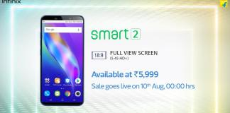 Infinix Smart 2 - Cheapest Full View Display Smartphone