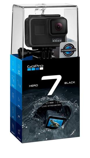 GoPro Hero 7 Black - The best action camera at Rs.37,000
