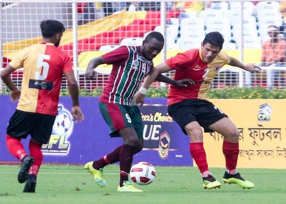 The Calcutta Derby ends up with a 2-2 draw