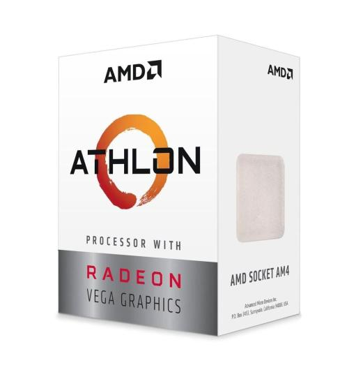 AMD's brings new Athlon 200GE with Vega graphics at $55