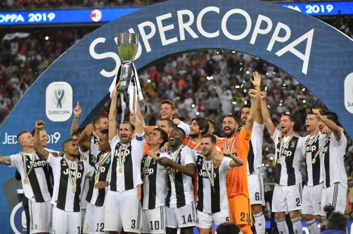 Juventus wins Supercoppa for a record 8 times
