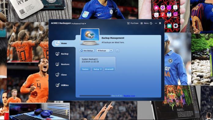AOMEI Backupper Software: Simple yet effective