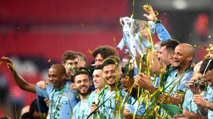 Manchester City win the EFL Cup