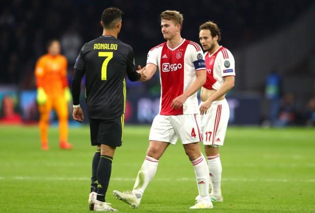 Ronaldo and De Ligt