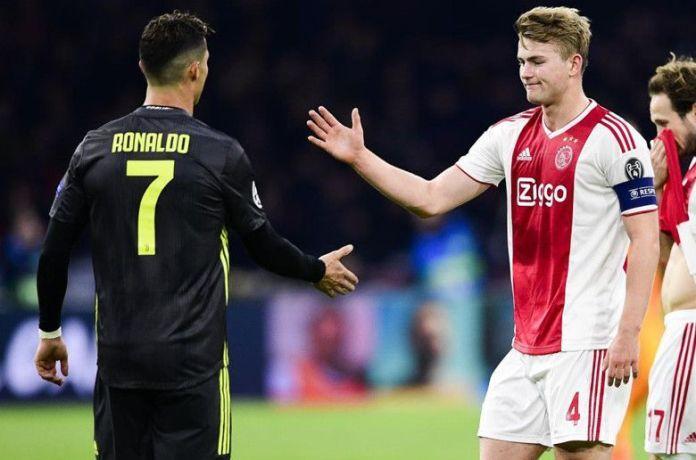 De Jong and Ronaldo