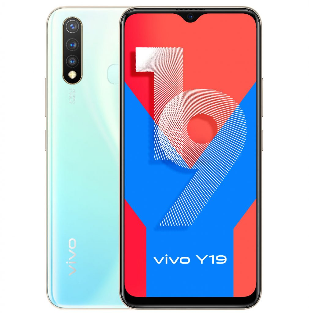 Vivo Y19 with triple rear cameras & Helio P65 launched at Rs.13,999