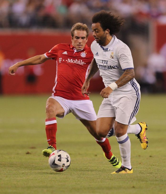 Lahm and Marcelo