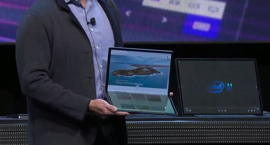 CES 2020: Intel's Horseshoe Bend Concept is the Foldable PC you dreamt of