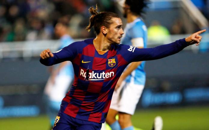 Griezmann says Barca is still adapting to playing with three centre-backs