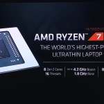 CES 2020: 7nm Zen 2 AMD Ryzen 4000U Mobile processors launched