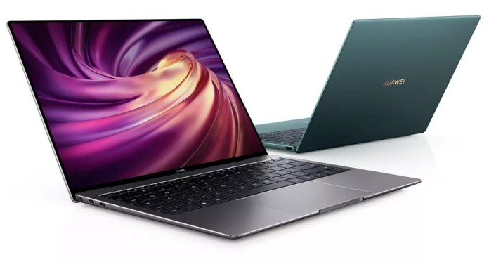 HUAWEI MateBook X Pro 2020 with 10th Gen Intel CPUs launched