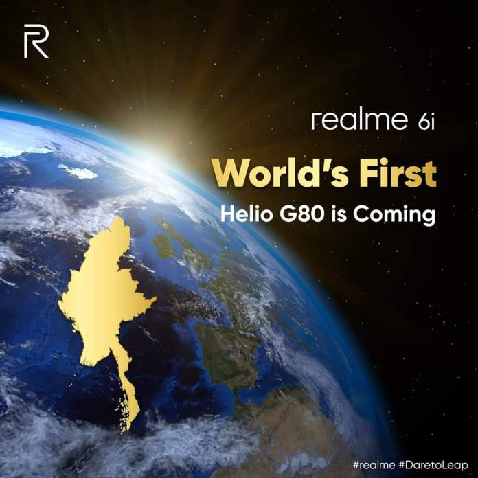 Realme 6i will be the first MediaTek Helio G80-powered phone