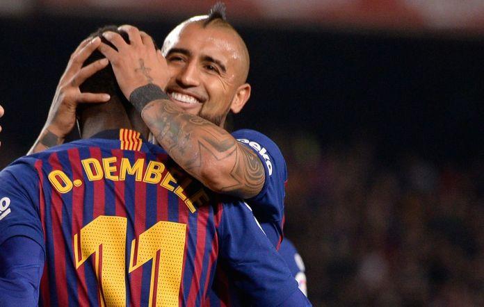 Juventus & Inter seeks Ousmane Dembele, Vidal turns down China move
