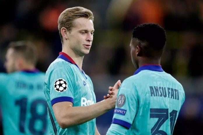 Frenkie de Jong says he's surprised by Ansu Fati, tells his favourite Barcelona match so far