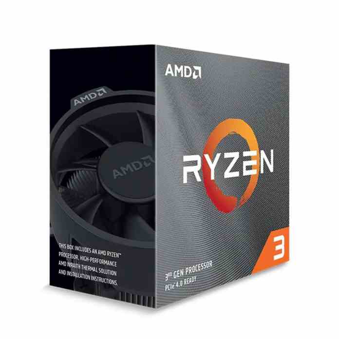 AMD Ryzen 3 3100 & 3300X now available in India
