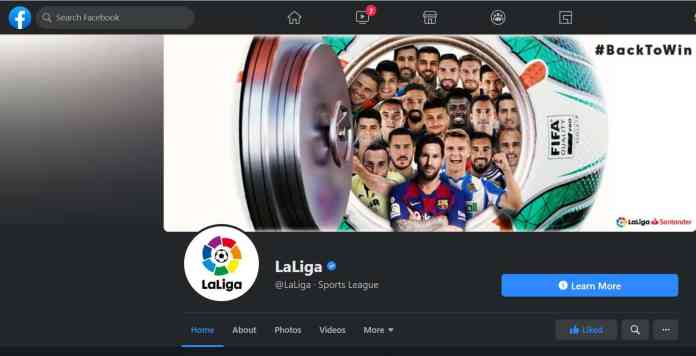 laliga facebook