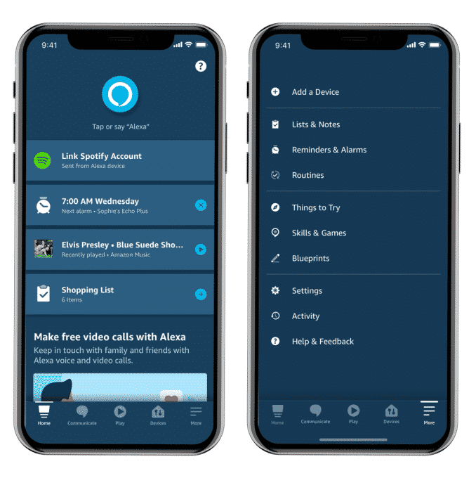 Amazon Alexa App become cleaner and personalized_TechnoSports.co.in