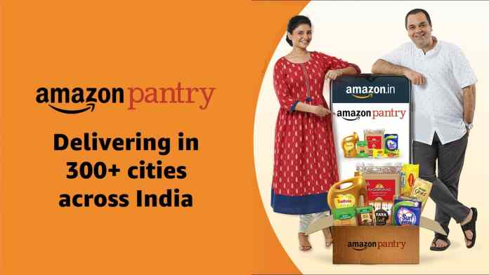 Amazon Pantry gets expanded to over 300 Cities in India
