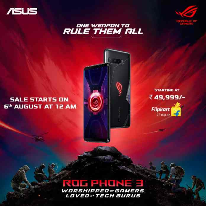 Asus ROG Phone 3 launched with Snapdragon 865+, 6000mAh battery in India at just Rs.49,999