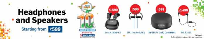Digital India Sale is back at Reliance Digital with best deals on the widest range of electronics