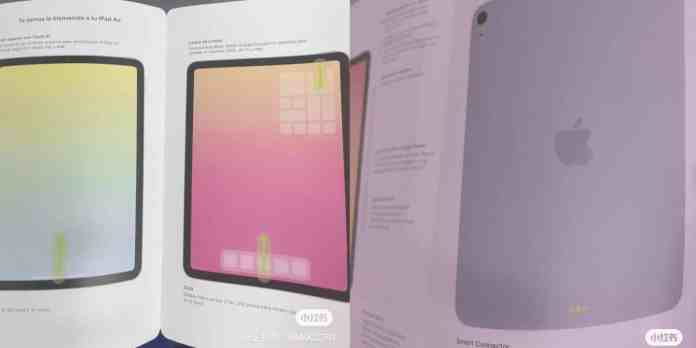 Rumored iPad Air 4 manual leaked_TechnoSports.co.in