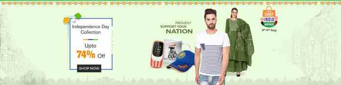 ShopClues brings Three-Day 'Independence Day' Sale with up to 74% discount