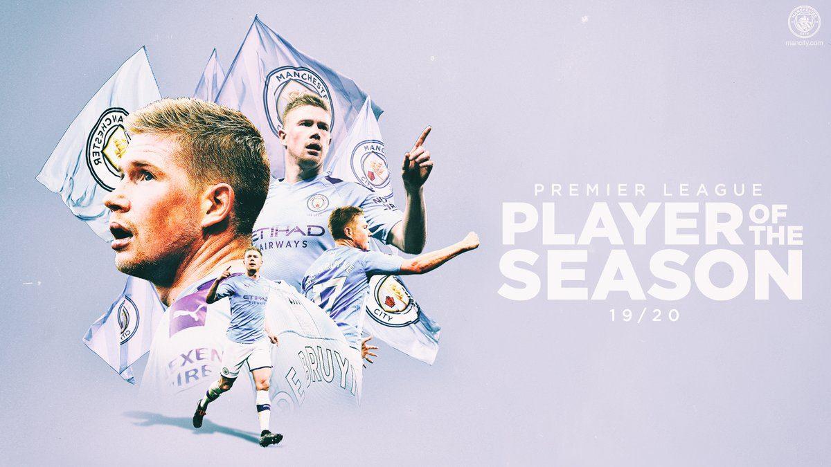 De Bruyne beats Liverpool trio to Player of the Season award