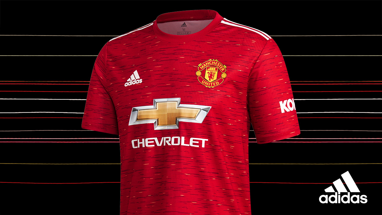 Manchester United Unveil Their New Home Kit For The 2020 21 Season Technosports