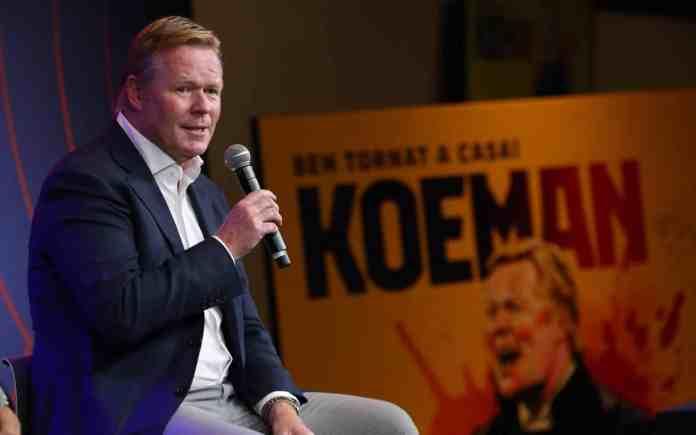Ronald Koeman wants to make five or six signings for the upcoming season