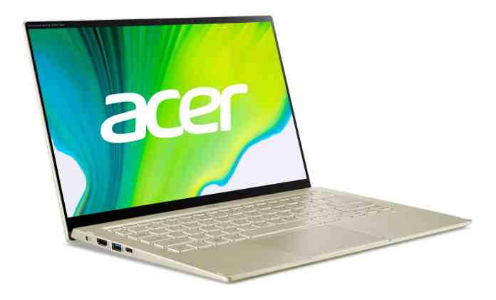 Acer announces its latest Swift 3 and Swift 5 laptops with 11th Gen Tiger Lake CPUs