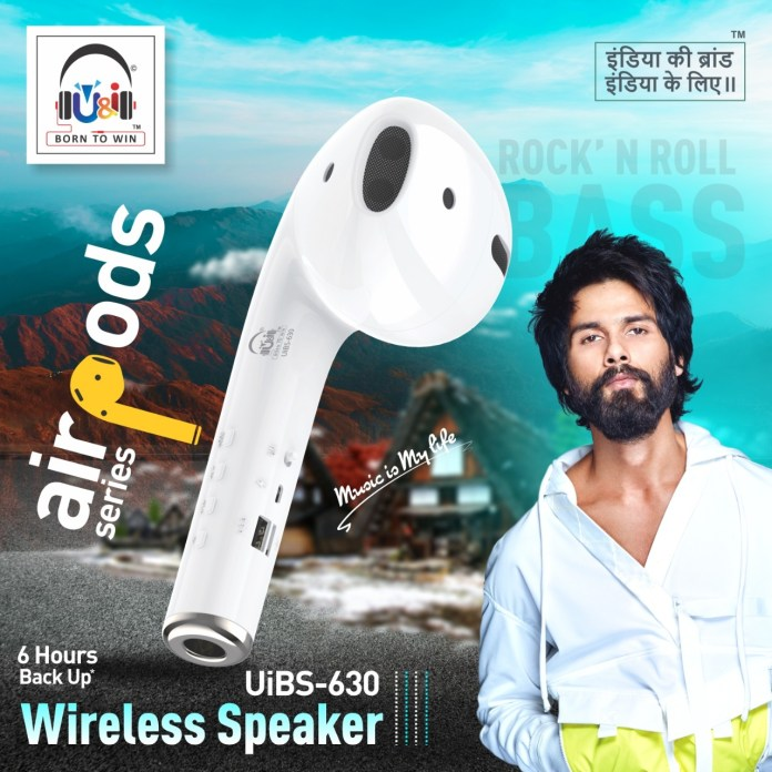 "U&i expands its wireless speaker range, launches ""Airpods""- unique earpods shaped Wireless Speaker"