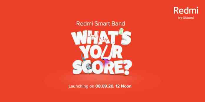 Xiaomi Redmi Smart Band will launch on 8th September_TechnoSports.co.in