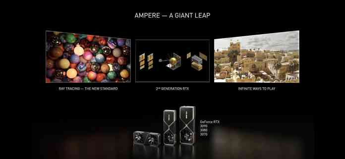 New NVIDIA Ampere RTX GPUs comes with an insane performance starting at $499